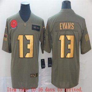 Tampa Bay Buccaneers Mike Evans Jersey Olive